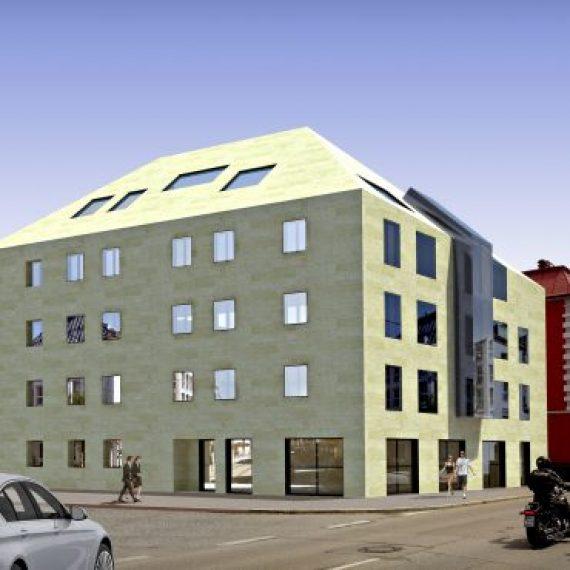 Wohn-Geschäftshaus in Kempten -Projekt